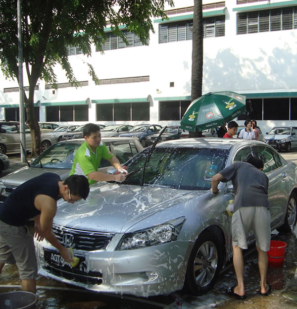 Charity Car Wash