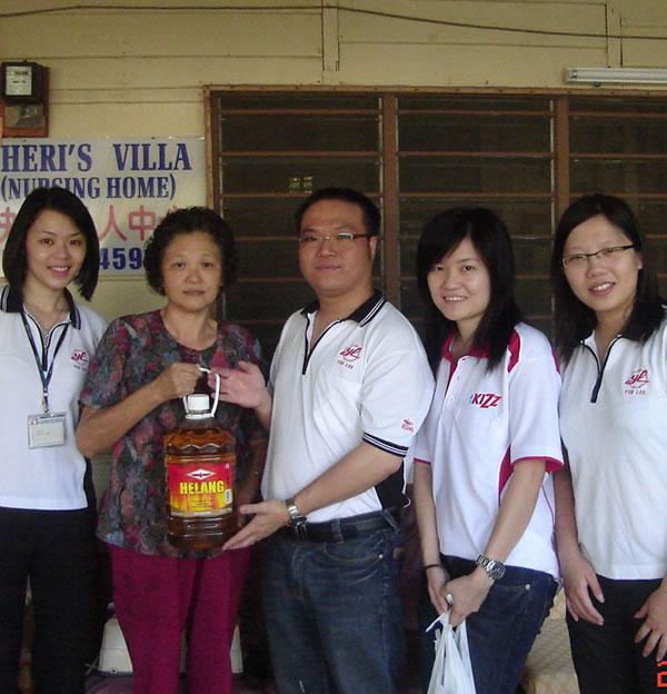 Charity Visits