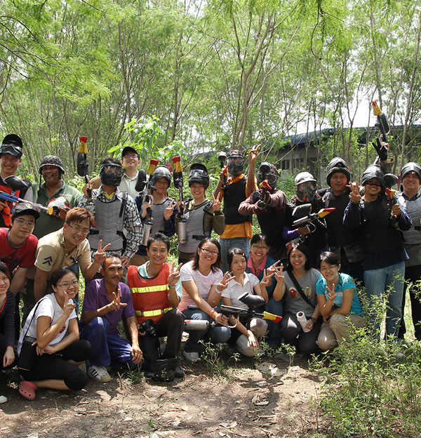Family Day & Paintball Games