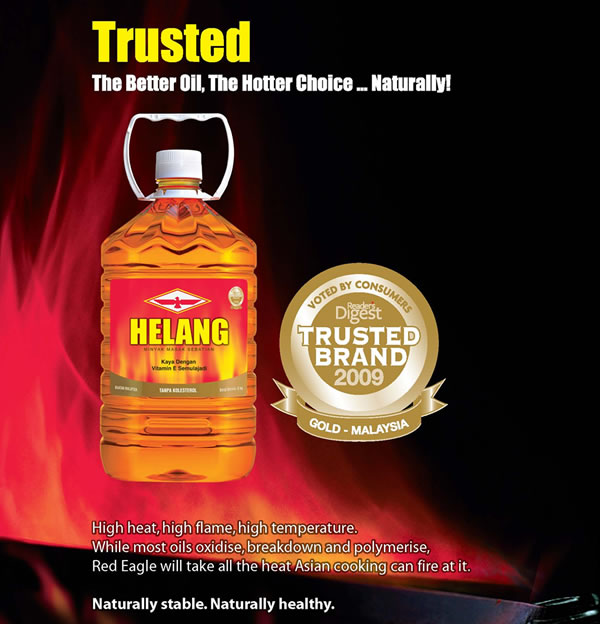 Red Eagle Cooking Oils Voted Recipient Of Readers Digest Trusted Brand Gold Award 2009
