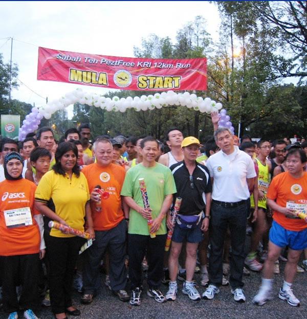 Sabah Tea Peztfree – KRI 12km Run 2011